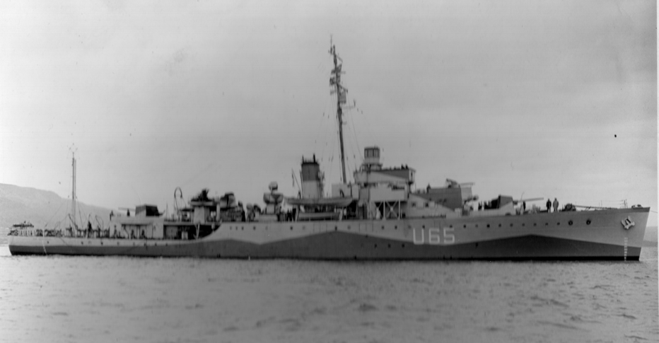 HQS WELLINGTON during Wartime